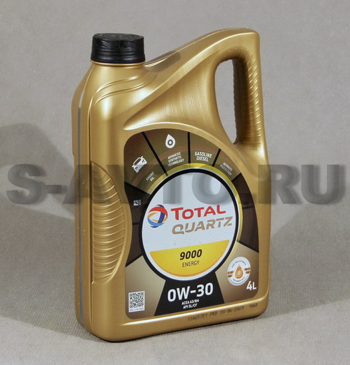 TOTAL QUARTZ ENERGY 9000 0W-30 синт. 4л