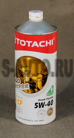 TOTACHI Grand Touring Fully Synthetic SN 5W-40 синт. 1л