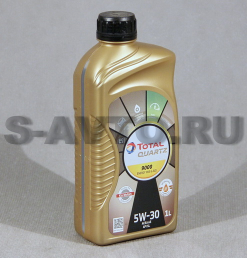 TOTAL QUARTZ 9000 ENERGY HKS 5W-30 синт. 1л