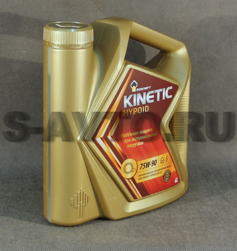 РОСНЕФТЬ RN Kinetic Hypoid 75W-90 GL-5 п/с 4л