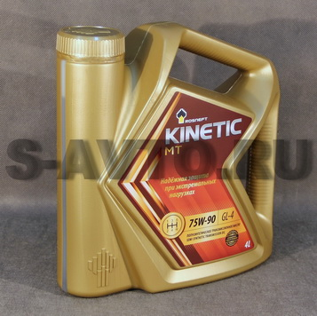 РОСНЕФТЬ RN Kinetic MT GL-4 75W-90 п/с 4л
