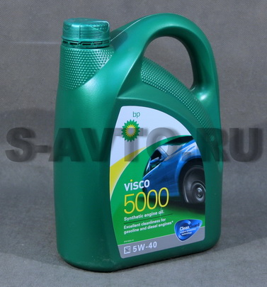 BP Visco 5000 5W-40 синт. 4л