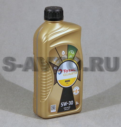 TOTAL QUARTZ Future 9000 NFC 5W-30 синт. 1л