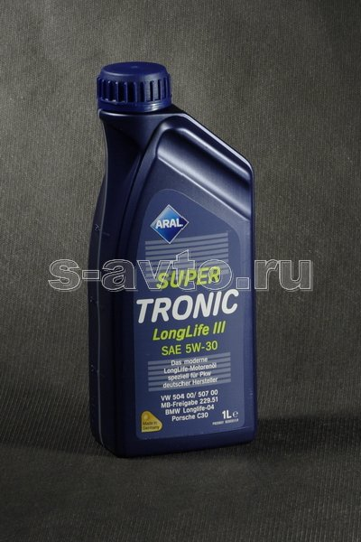 ARAL Super Tronic Long Life III 5W-30 синт. 1л