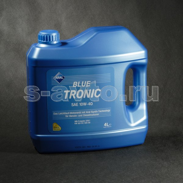 ARAL BlueTronic 10W-40 4л п/с
