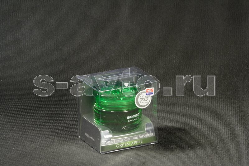 Ароматизатор гель Dr.Marcus Senso Deluxe (40 мл) Green Apple